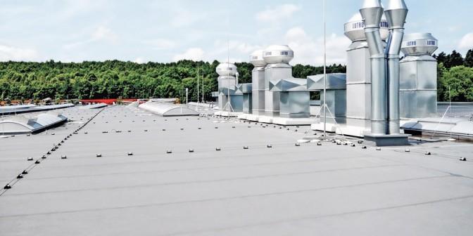 Tetto piatto Extrupol - adatto a tutti i tipi di tetto