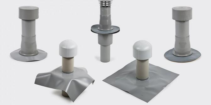 Accessori del tetto piatto - Entlüftung