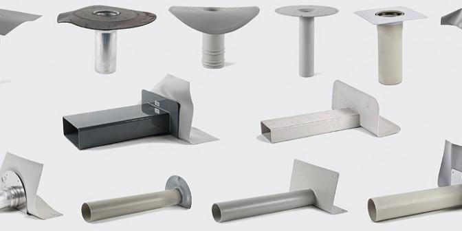 Accessori del tetto piatto - prosciguamento