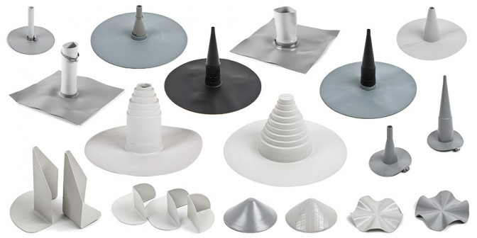 Accessori del tetto piatto - Formteile Durchführungen