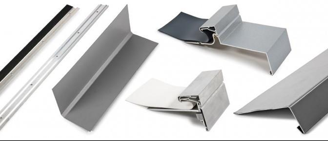 Latte di foglia, profili del bordo pensile