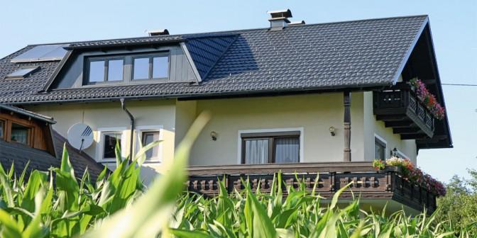 Tetto di metallo TWINTILE – forma del tetto classico